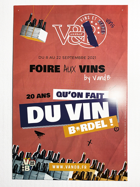 Foire aux vin - V and B